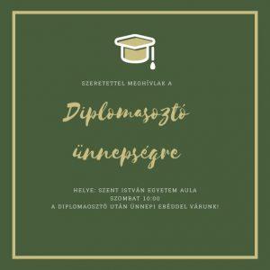 meghívó diplomaosztóra